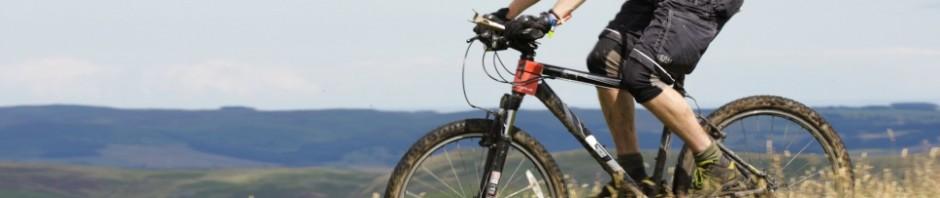 Tim Budd physiotherapist mountain biking