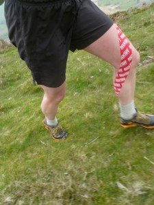 Powertaping Kinesiology tape Glossop injury prevention and rehabilitation