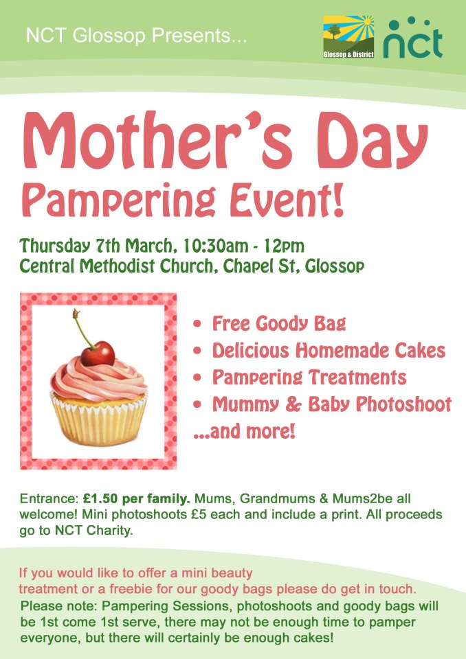 NCT Mother's Day Pampering Event – Global Therapies